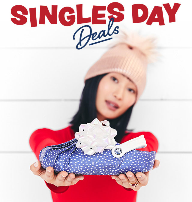 Up to 60% off this Singles Day at Crocs!